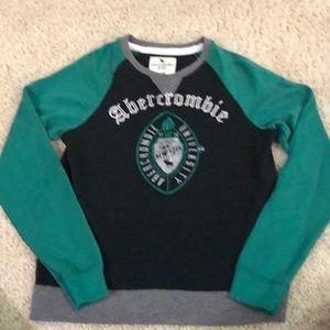 NWOT Abercrombie kids crew neck sweatshirt.